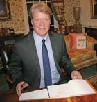 Charles, 9th Earl Spencer evening event in Wimborne