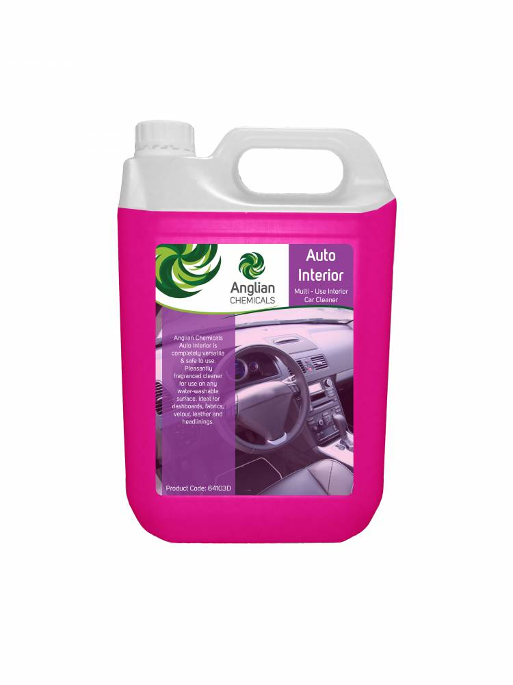 Auto Interior Cleaner Vehicle Cleaning From Anglian Chemicals