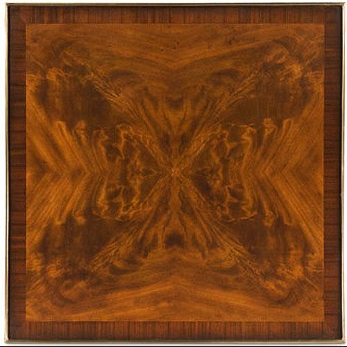 Regency mahogany lamp table