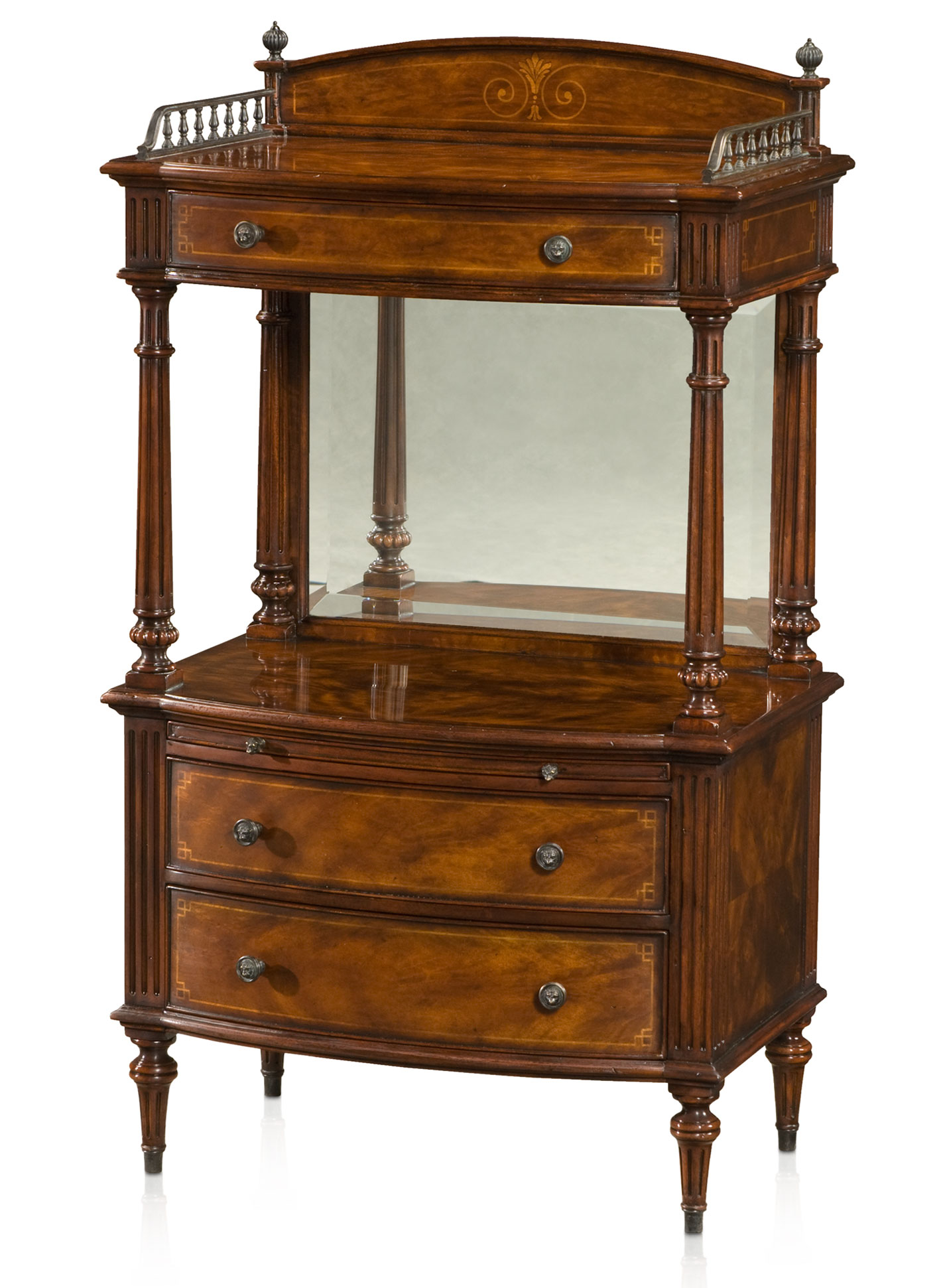 Victorian Style Mahogany Telephone Table Lamp Side Tables From Brights Of Nettlebed
