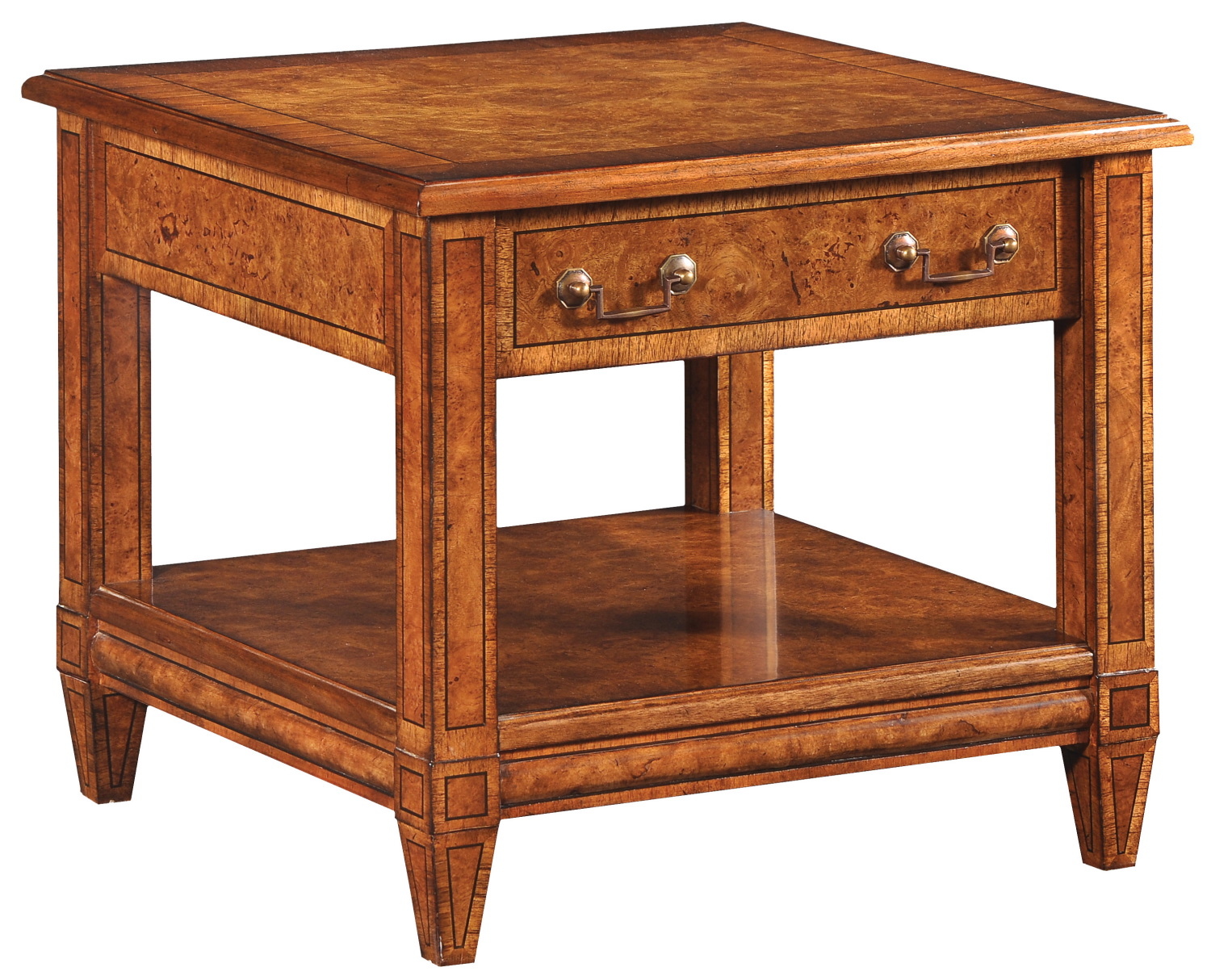 Dorchester lamp table with drawer