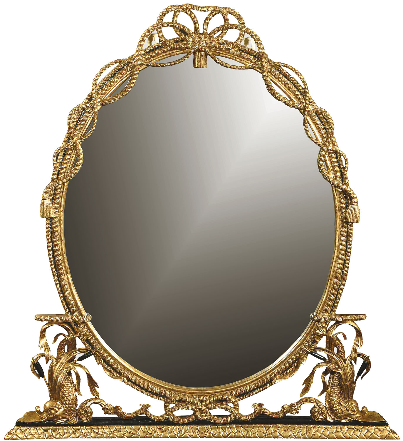 George III style mirror - Antique finish