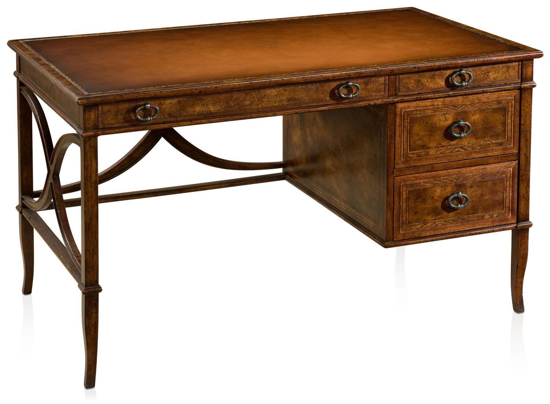 Mahogany crossbanded writing desk