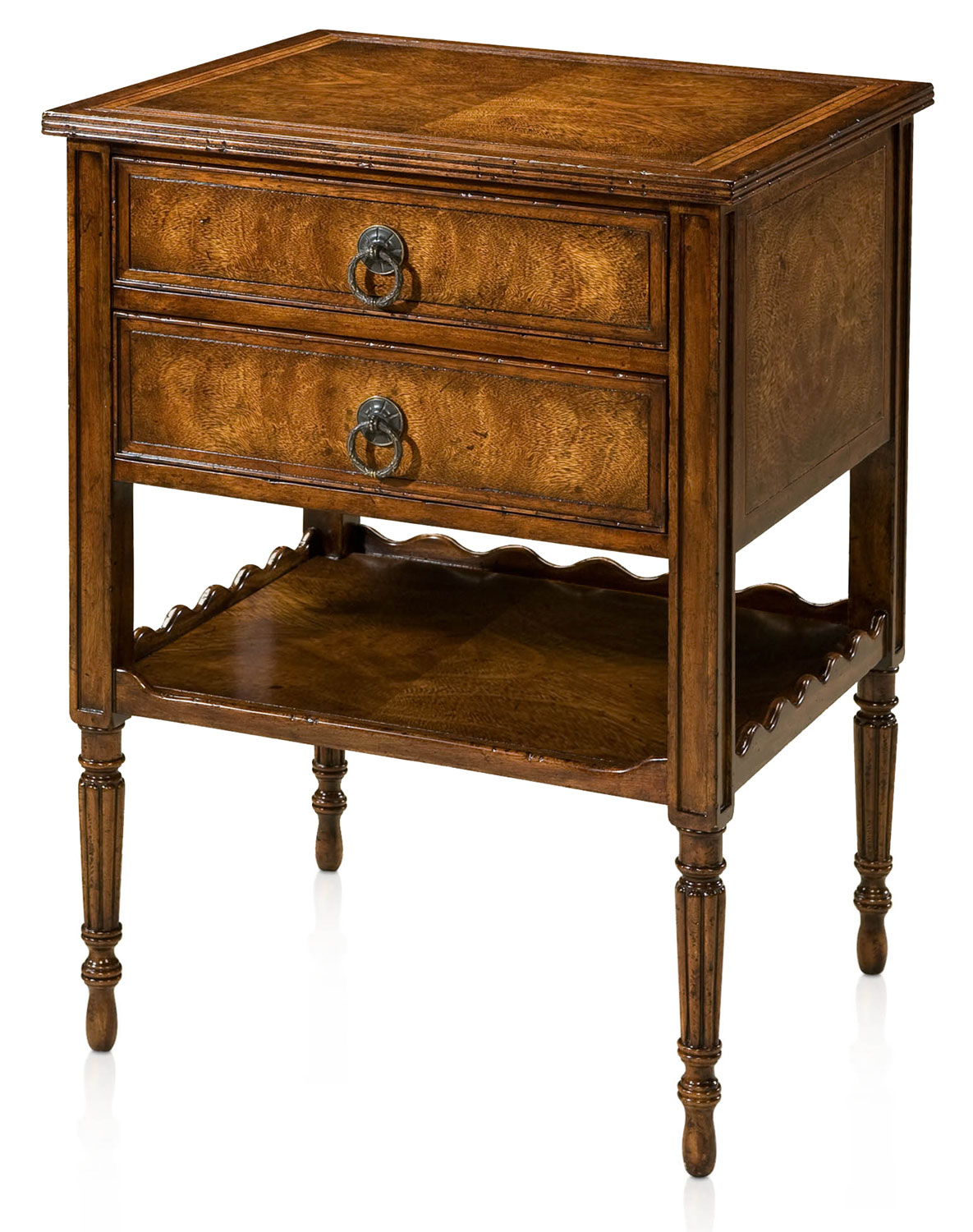 Mahogany and cerejeira night stand