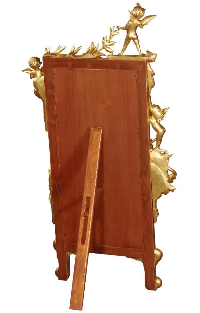 Cherub cheval mirror - 60in.