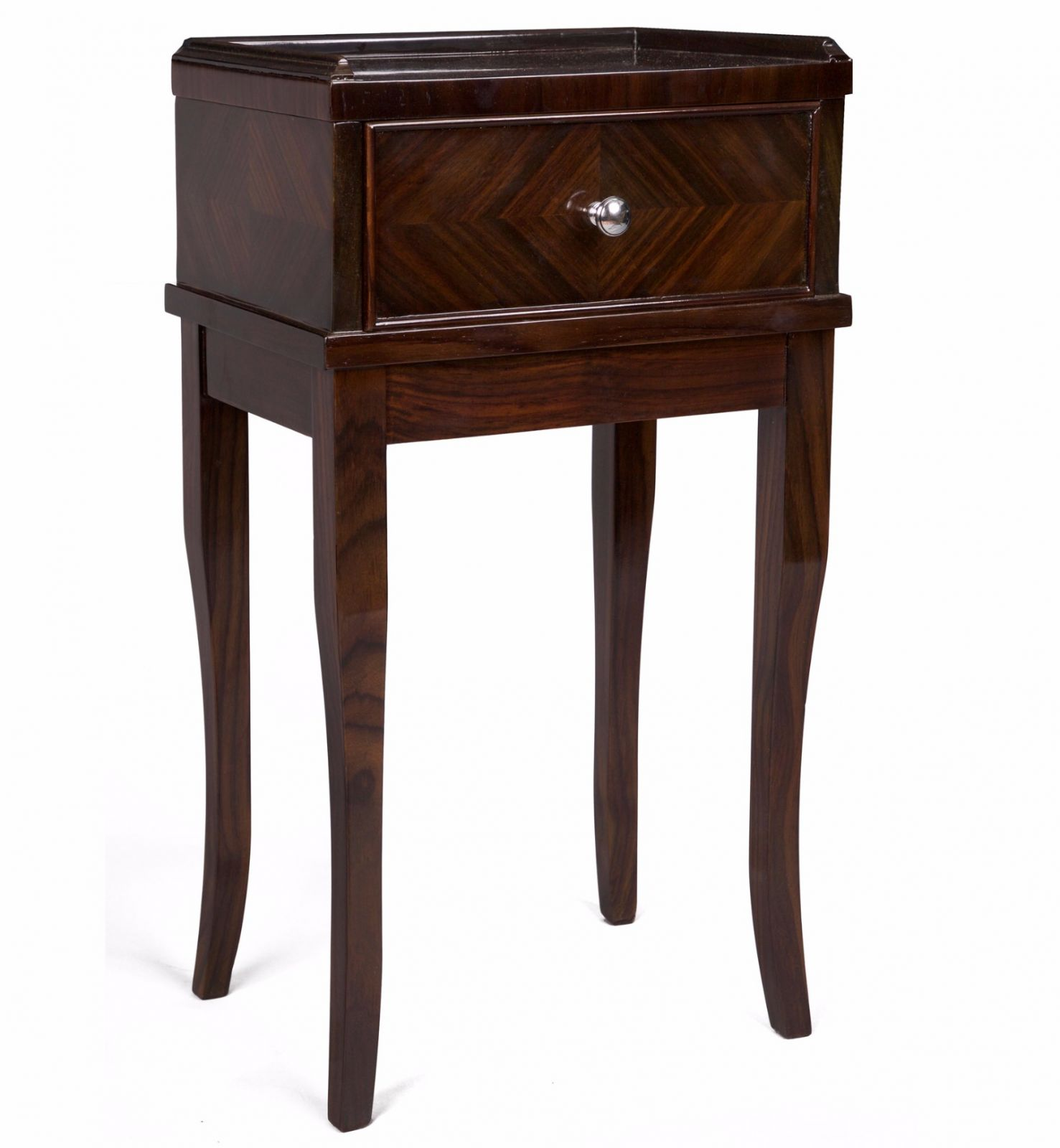Rosewood lamp table