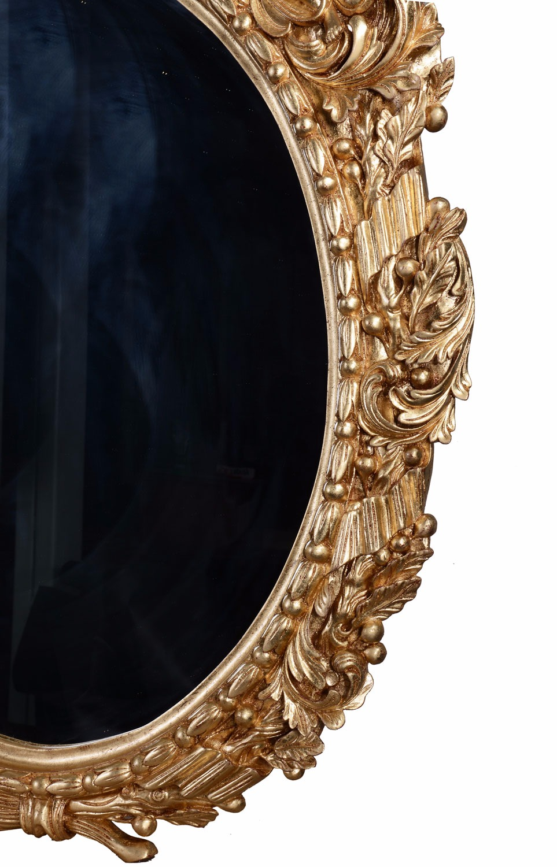 18th Century Military giltwood mirror