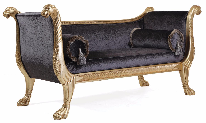 Gillows leopard sofa