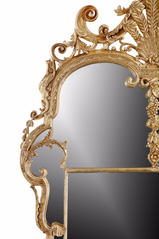 Period giltwood mirror