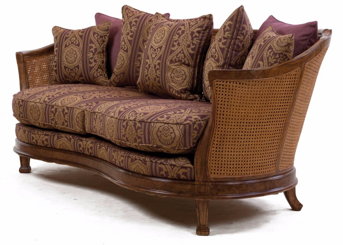 Mauretania sofa in heather damask