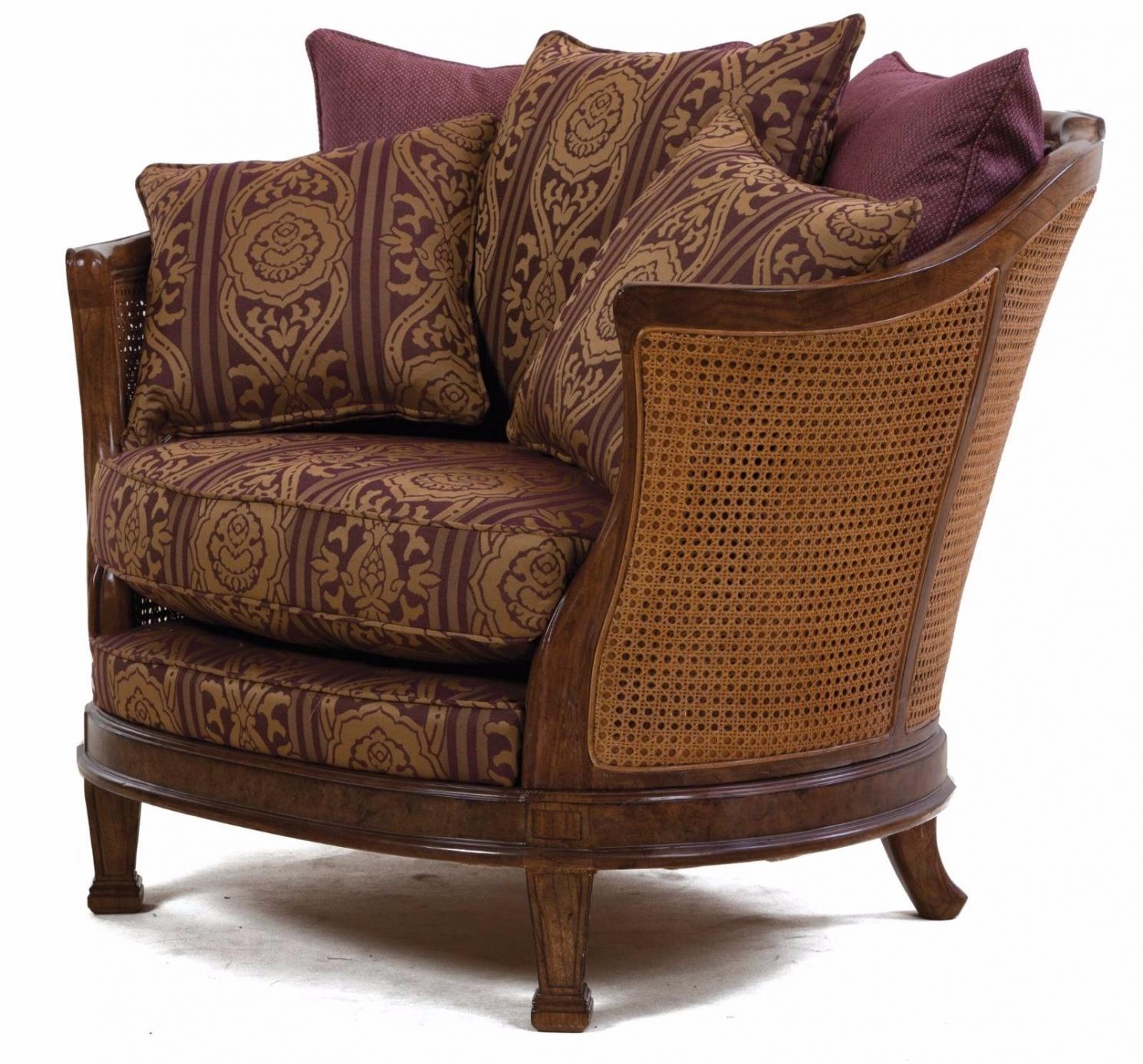 Mauretania chair in heather damask
