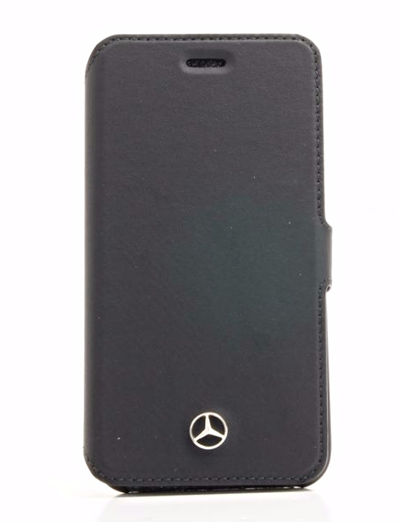 Genuine mercedes benz pure line iphone 6 6s black leather for Mercedes benz connect iphone