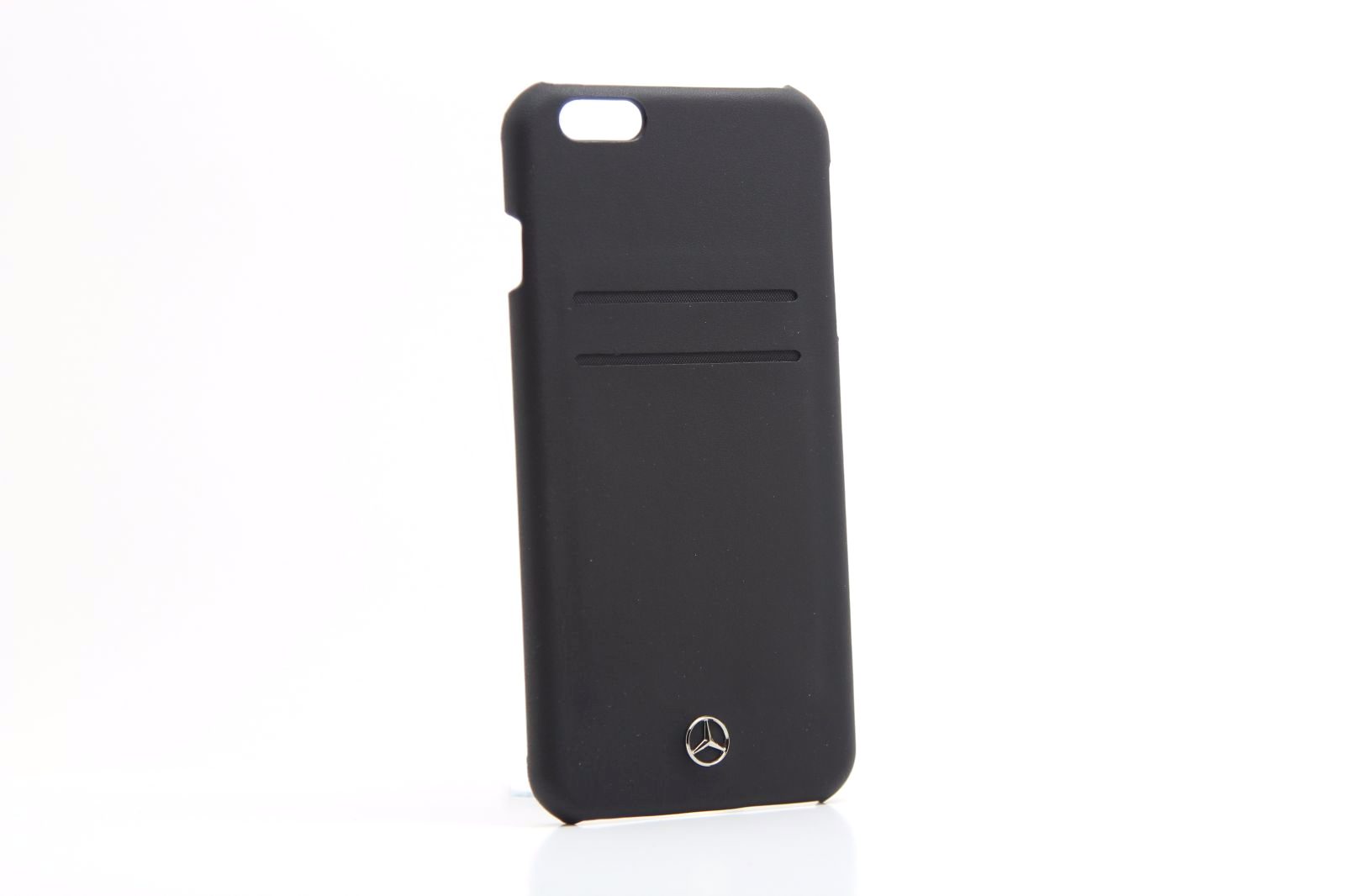 Mercedes benz pure line black leather iphone 6 6s plus for Mercedes benz connect iphone