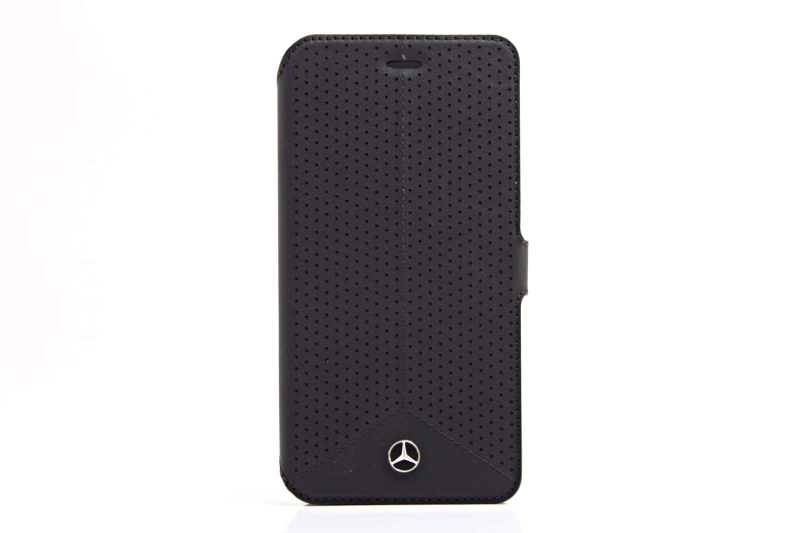 genuine mercedes benz black perforated leather iphone 6