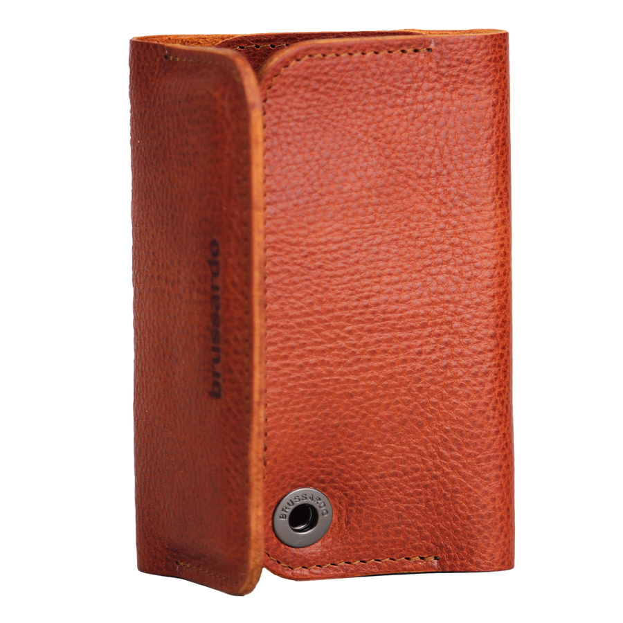Brussardo iphone 5 5s 5c and 5se case and wallet in brown leather cases and covers from jlsp - Iphone 5s leather case ...