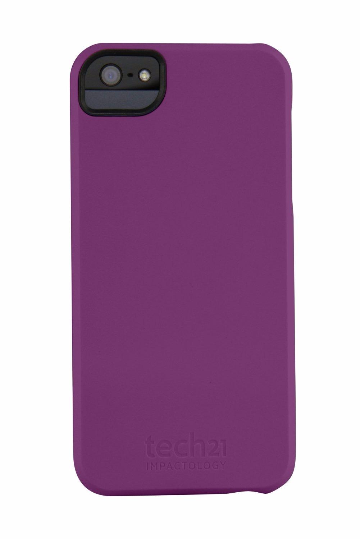 Tech21 D3O iPhone 5/ 5S/ 5SE Impact Snap Case Purple T21 ...