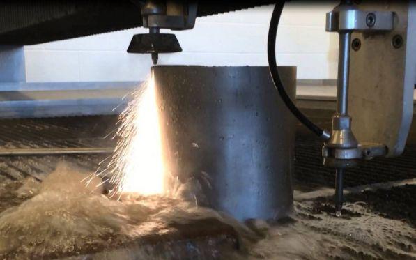 Titanium Waterjet Cutting