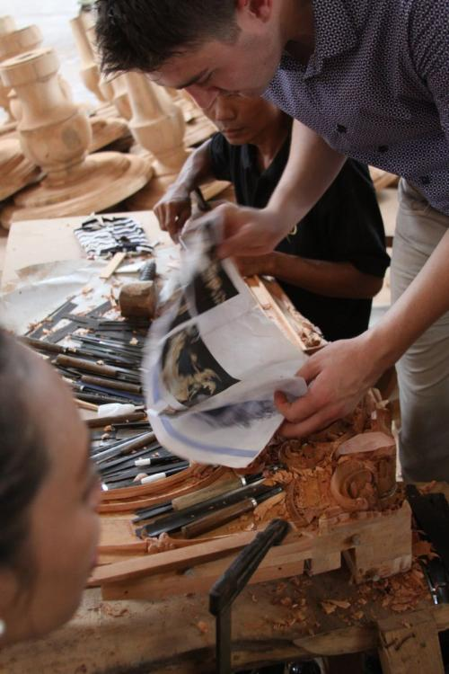 The Art of Woodcarving in Indonesia