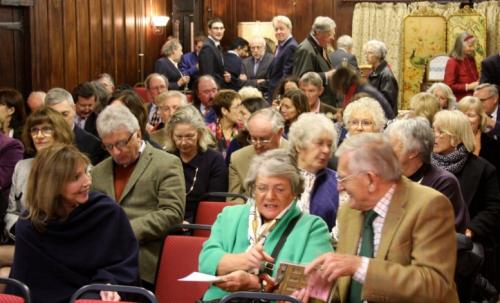 Charles Spencer gives 100th and Final Talk at Nettlebed