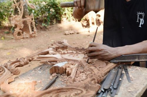 Wood carving in Indonesia - a culturally rich heritage