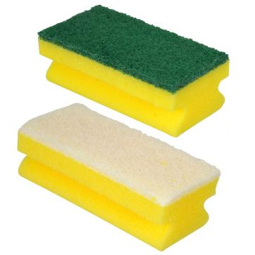 Robert Scott | Sponge Scourer and Grip | Green or White | Pack of 10