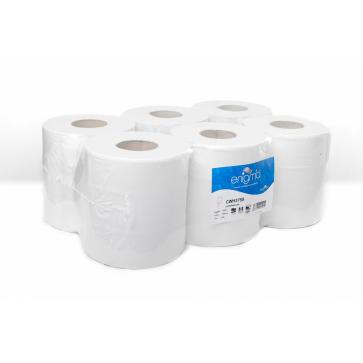 Enigma | Standard Centrefeed Rolls | 2 Ply | White | 6 Rolls | CWH375S