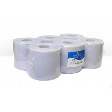 Enigma | Standard Centrefeed Roll | 2 Ply | Blue | 6 Rolls | CBL375S