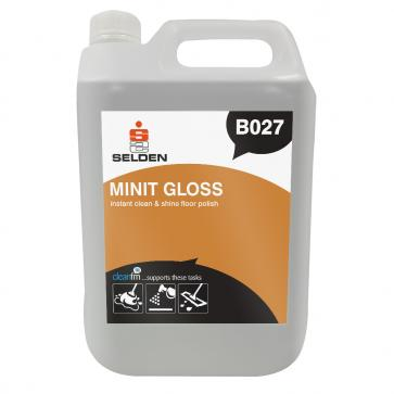 Selden | Minit Gloss | Floor Polish | 5 Litre | B027