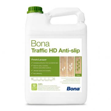 Bona Traffic HD Anti Slip | Wood Floor Lacquer | 4.95 Litre | Case of 3