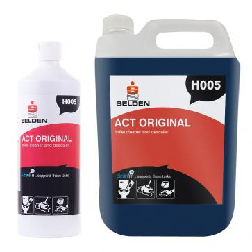 Selden | Act Original | Stainless Steel Safe Toilet Cleaner and Descaler | H005