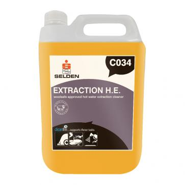 Selden | Extraction H.E. | Woolsafe Hot Water Extraction Cleaner | 5 Litre | C034 | Case of 2