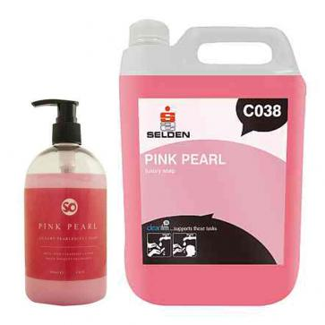 Selden | Pink Pearl | Luxury Pearlised Hand Soap | C038
