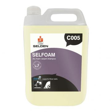 Selden | Selfoam | Dry Foam Carpet Shampoo | 5 Litre | C005