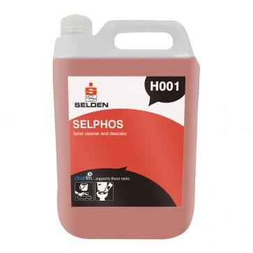 Selden | Selphos | Toilet Cleaner & Descaler | 5 Litre | H001