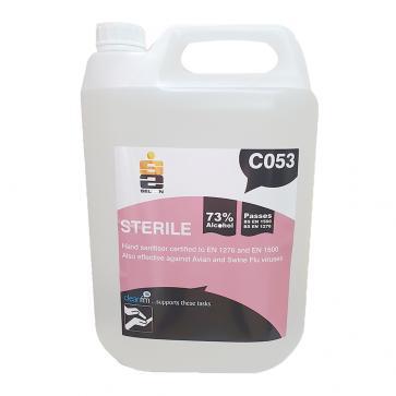 Selden | Sterile | Alcohol Hand Sanitiser | 5 Litre | C053