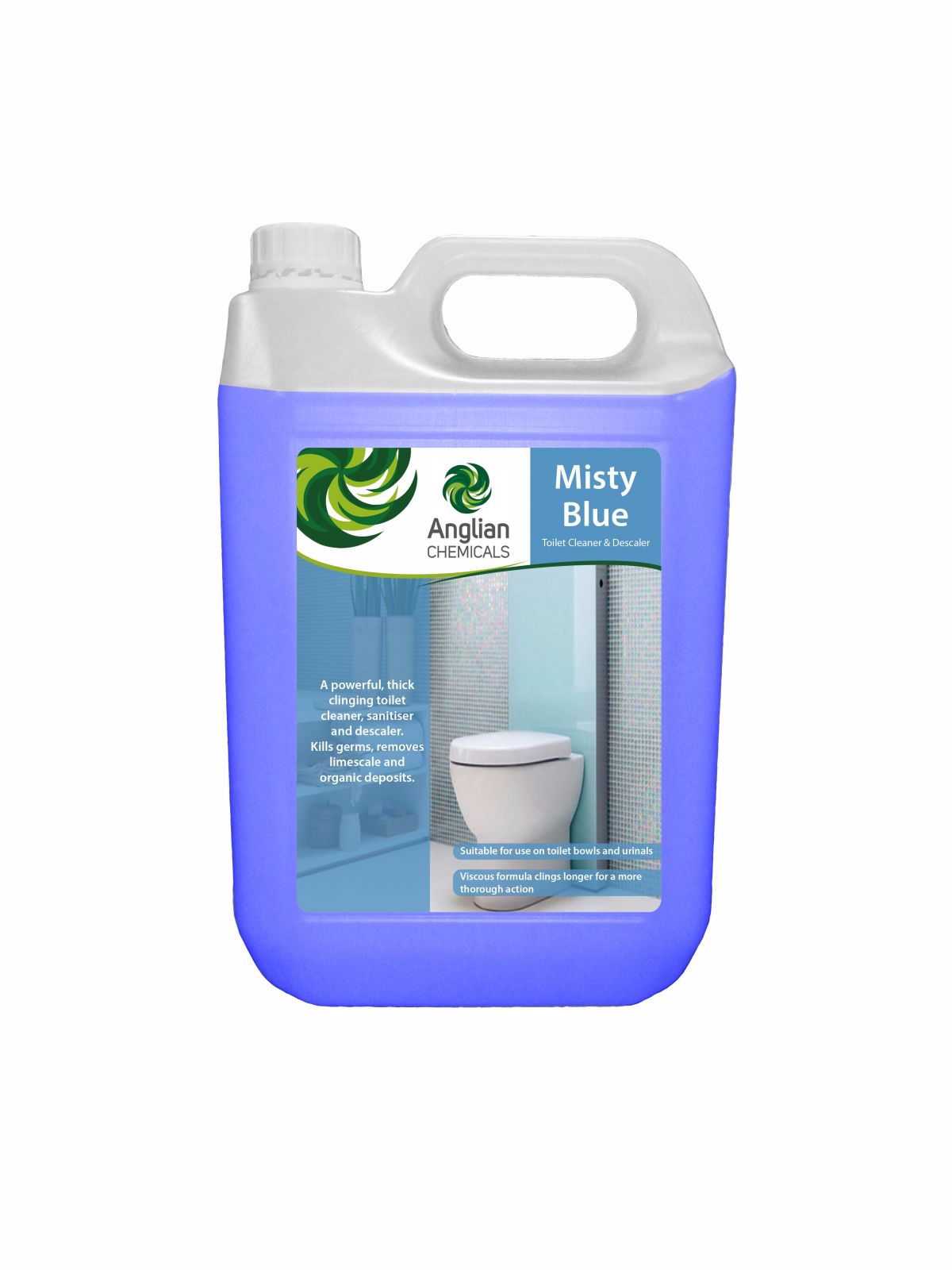 Misty Blue - Toilet Descaler