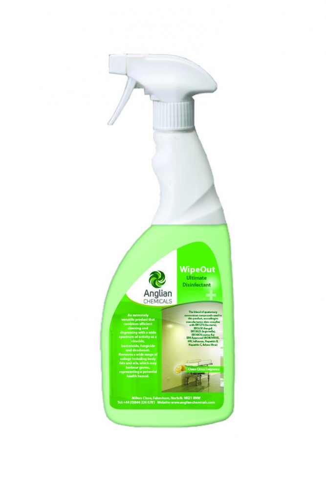 WipeOut Ultimate Disinfectant - Ready To Use