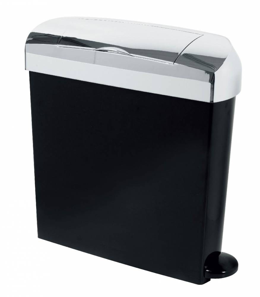 23 Litre Bright Chrome Sanitary Bin