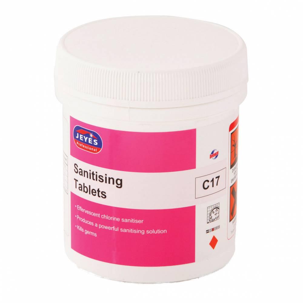 Sanitising Tablets