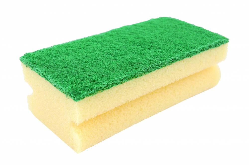Fingergrip Scouring Sponge