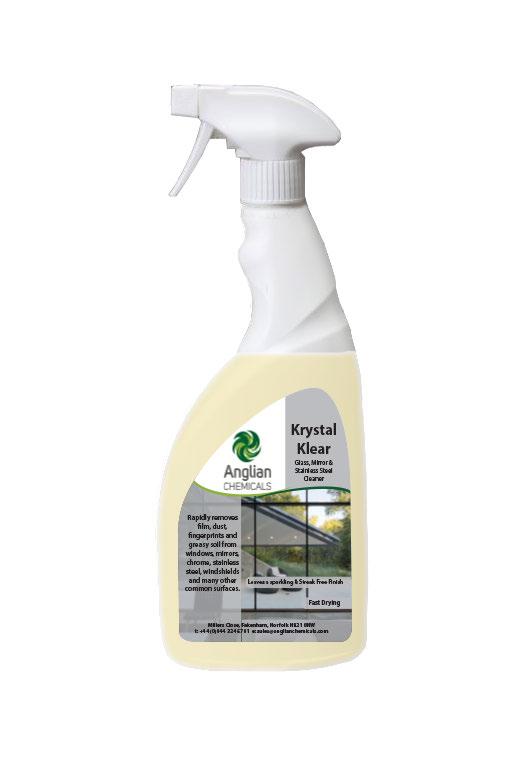 Krystal Klear Glass Cleaner