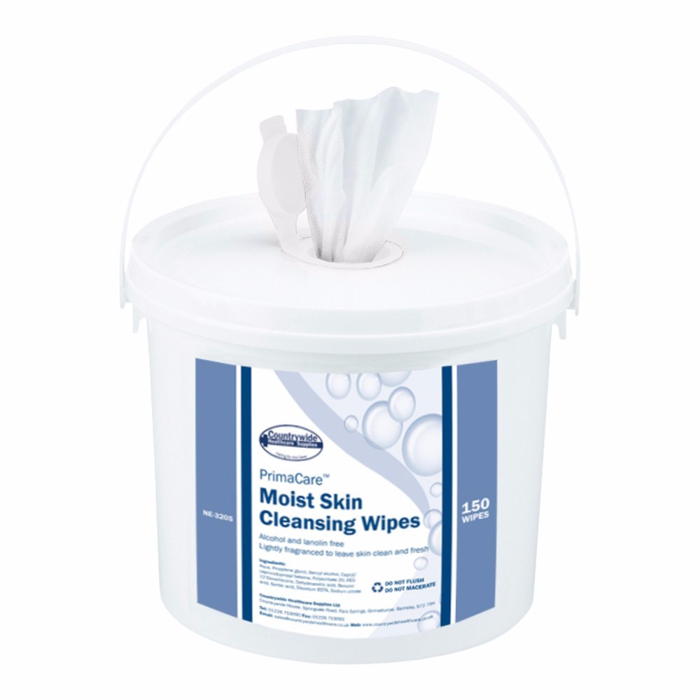 Moist Skin Cleansing Wipes