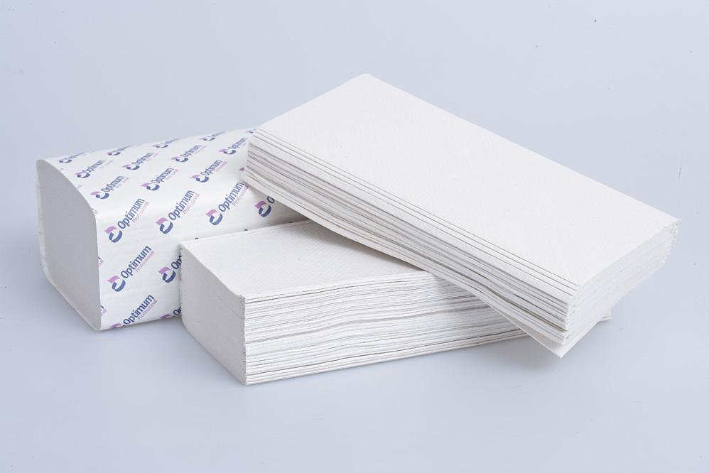 White 2 Ply V-Fold Hand Towel