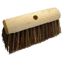 Stiff yard broom