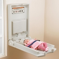 Vertical Baby Changing Unit