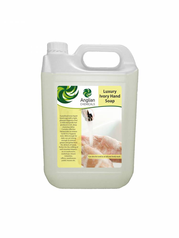 Ivory Luxury Hand Soap - 5 Litre