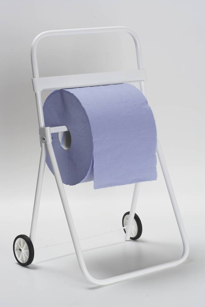 Wiping roll floor stand