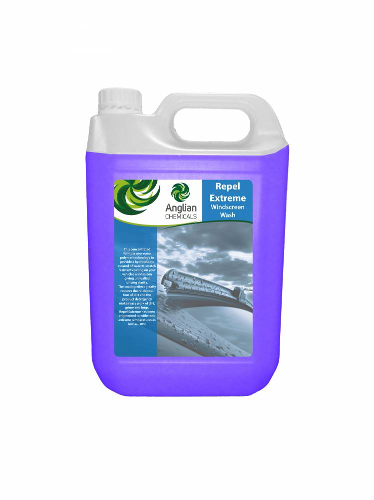 Repel Extreme Winter Screen Wash