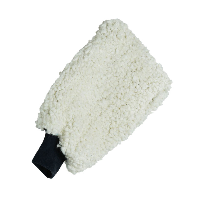 Cotton wash mitt