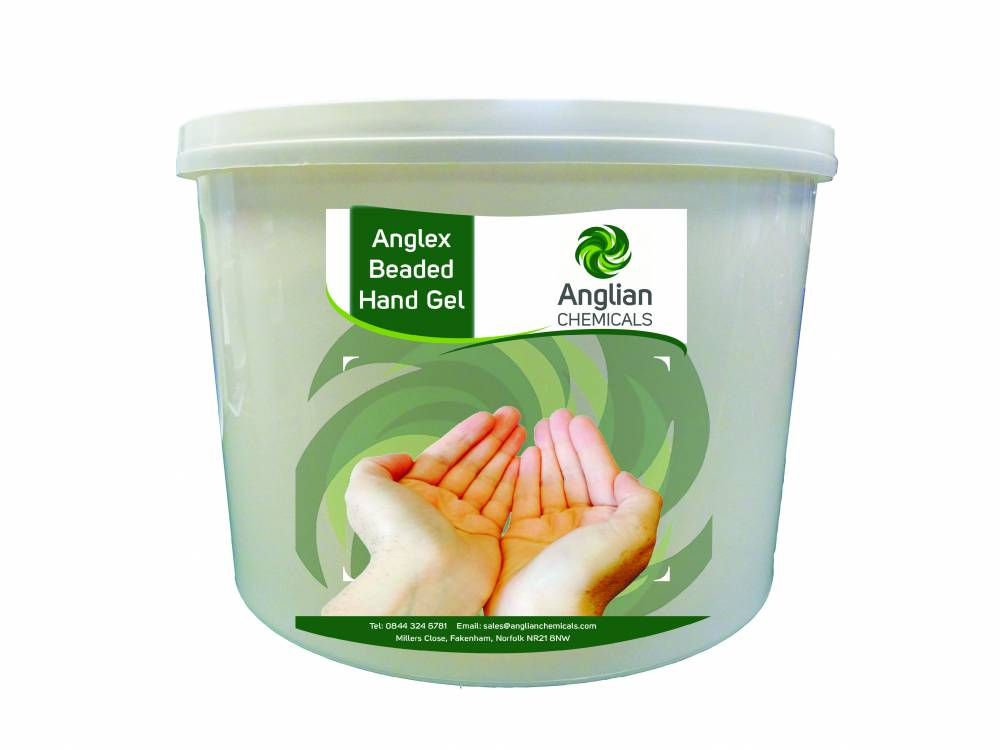 Anglex Beaded Hand Gel